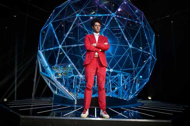 The Crystal Maze: - Presenter Richard Ayoade